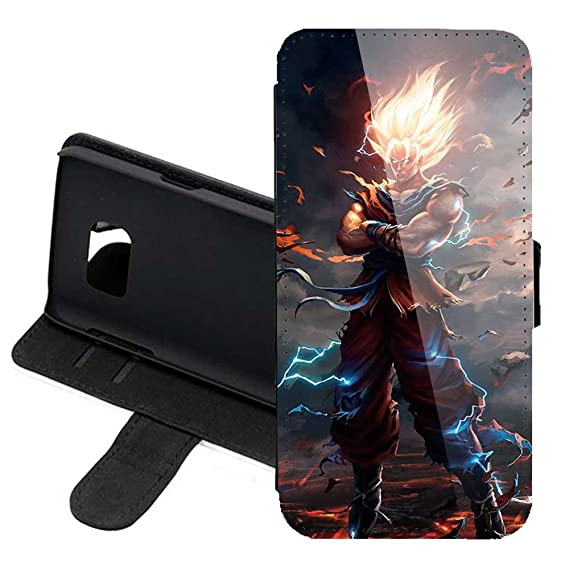 watch 0bc08 96418 Case for Samsung Galaxy S9 , Dragon Ball Z Manga Anime Comic PU Leather  Stand Wallet Folio Flip w/ID Credit Card Slot + Thewart8 Stylus Pen (#11)