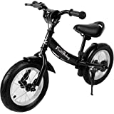 Deuba Kids Balance Running Bike Learning Training Cycle for Children 10 or 12 inch Wheels Safety First Starter Bicycle from 3-6 Years