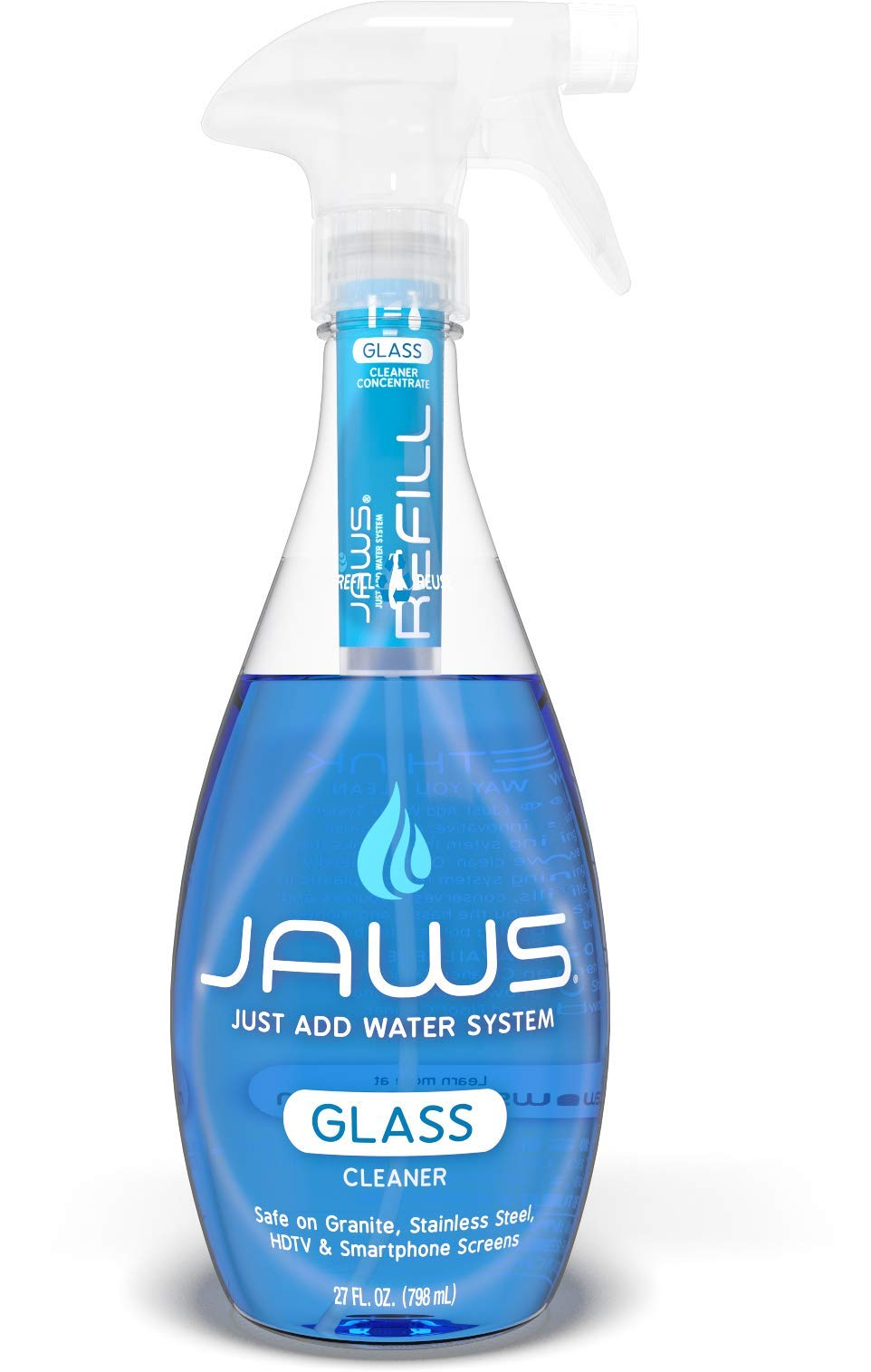 JAWS Glass Cleaner Refill Pods. Box of 24. Non-toxic and Eco-friendly Cleaning Products. by JAWS (Image #3)