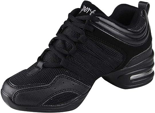 uirend Zapatos Aire Libre Deportes Danza Mujer - Lona Cordones ...