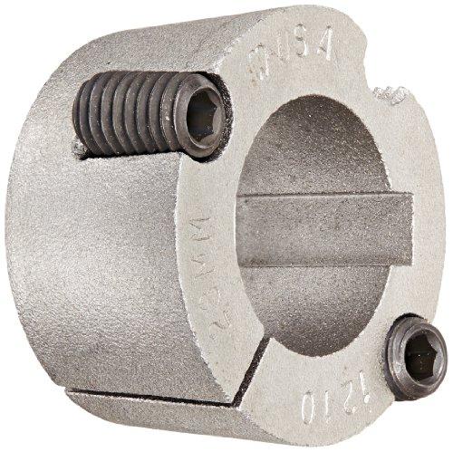 Martin 1210 28MM Taper Bushing, Sintered Steel, Metric, 28 mm Bore, 47.62 mm OD, 25.4 mm Length by Martin