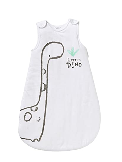 Vertbaudet saco sin mangas Little Dino * blanco Blanc/motif Talla:70