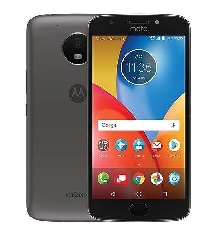 Motorola Moto E4 Plus, 5 5-inch LCD, 16GB, Unlocked (Code Provided) Smart  Phone, Black, Android 7 1 1, Non-Retail Packaging, (4th Gen) 2017 Model