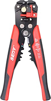 """SEDY Wire Stripping Tool, Self-adjusting 8"""" Automatic Wire Stripper/Cutting Pliers Tool"""