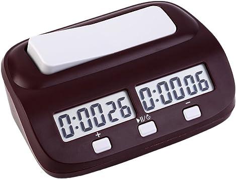EgoEra® Profesional Digital Reloj de Ajedrez, Contador de Tiempo ...