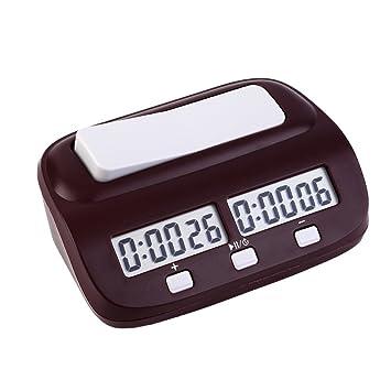 EGOERA reg; Profesional Digital Reloj de Ajedrez, Contador de Tiempo / Temporizador de Cuenta