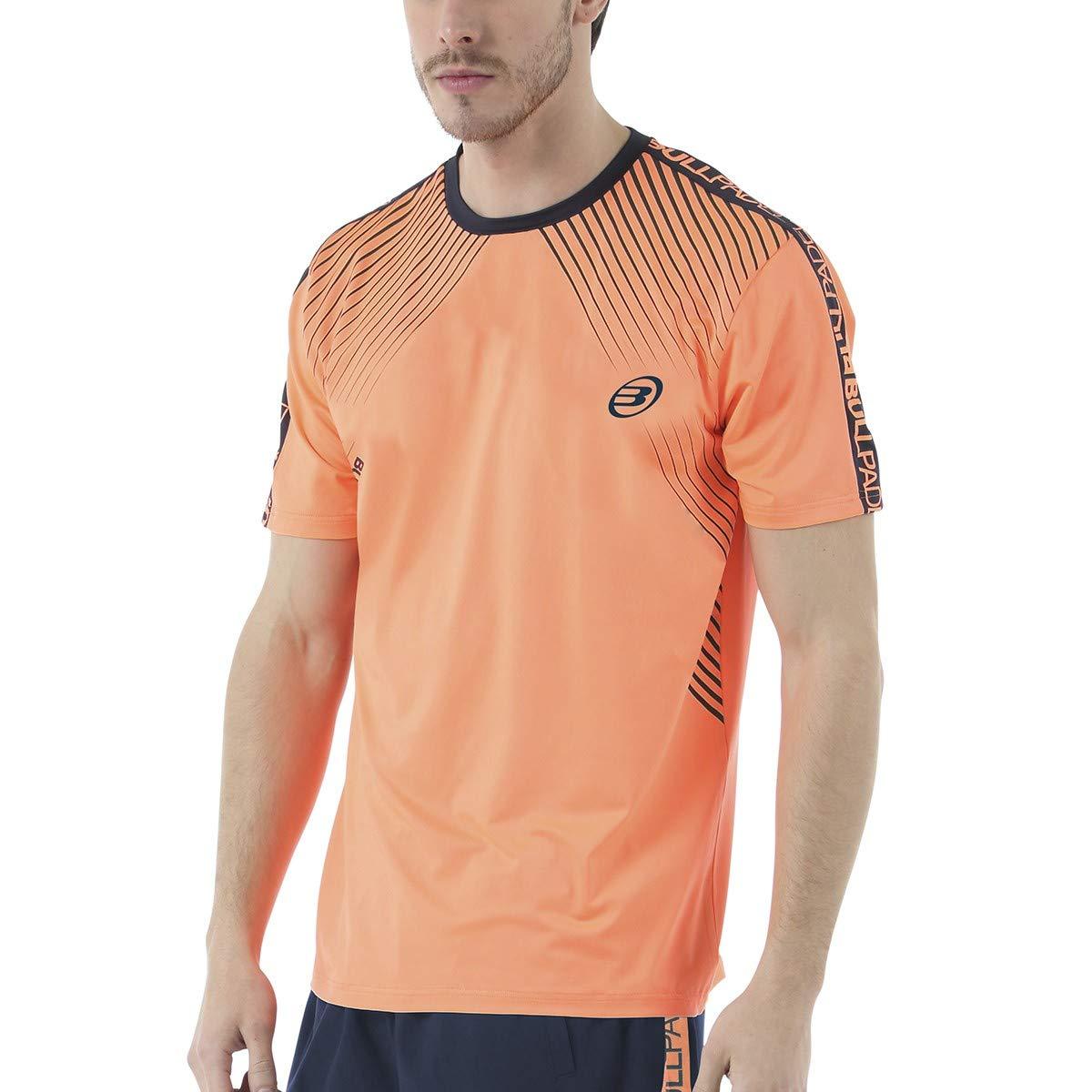 Bull padel Camiseta BULLPADEL IMOTEP Naranja Fluor: Amazon.es ...