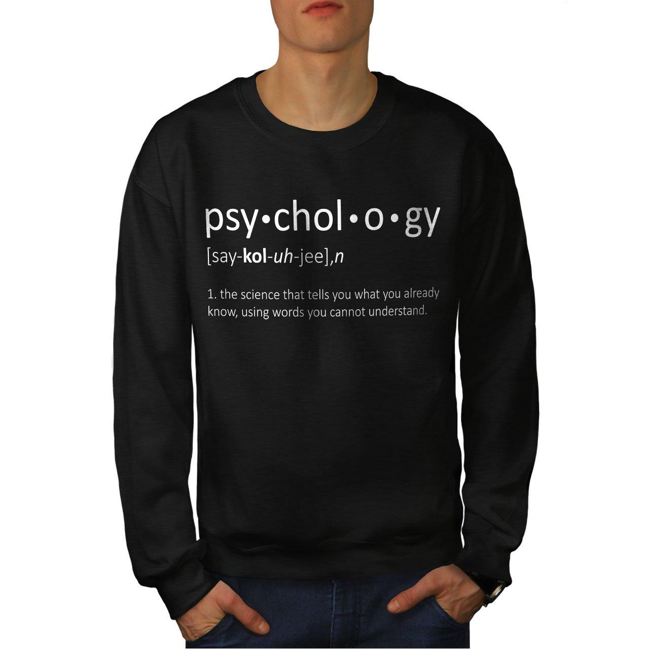 wellcoda Psychology Science Mens Sweatshirt Funny Casual Jumper