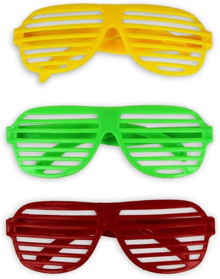 HC Handel Lot de 12 paires de lunettes de soirée: