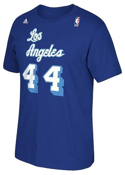 detailing 02393 e6890 adidas Jerry West Los Angeles Lakers NBA Soul Swingman Player T-Shirt