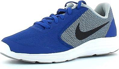 Betsy Trotwood Elección pestillo  Amazon.com: Nike Revolution 3 (GS) Zapatillas de running para niños, Azul,  4 grande niño M: Shoes