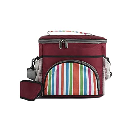 29e838d98059 Buy Funnuf Large Insulated Lunch Beach Tote Bag Cooler Picnic ...