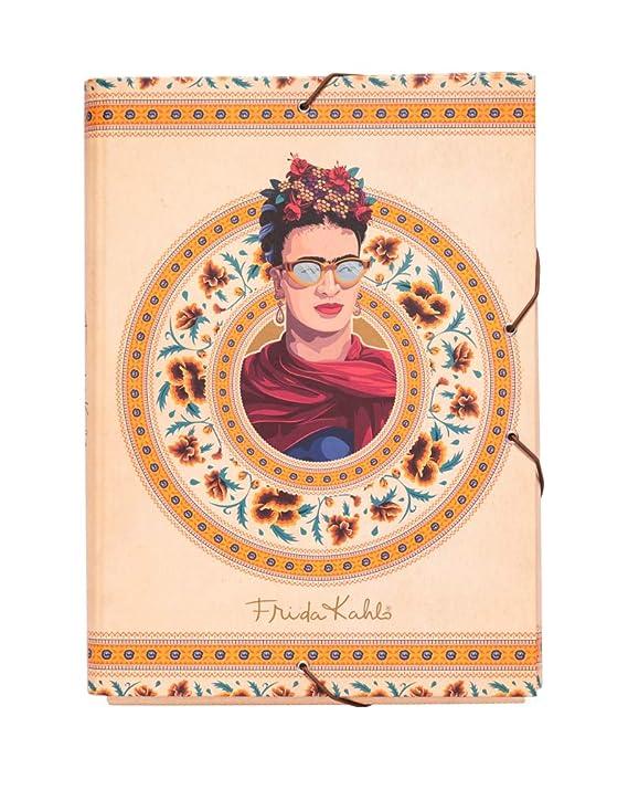 Grupo Erik Editores Frida Kahlo - Carpeta solapas, 34 x 25.5 ...