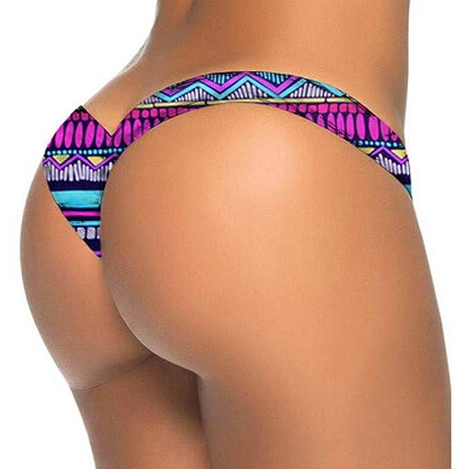 cc5c4555ad159f OVERDOSE Frauen Brasilianischer Bikini Unterseiten Zapfen Badestrand Hosen Badeanzug  Damen Badebekleidungs Schwimmenhosen Badeshorts Bademode: Amazon.de: ...