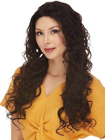 Amazon.com : ADRIANA Wig Color Natural Dark Brown - Elegante ...