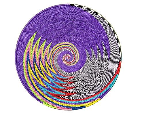 (Telephone Wire Basket|Home & Living| Home Decor| Baskets Woven Bowls | Zulu Basket| Wire Basket| African Basket| Storage Basket 12.5