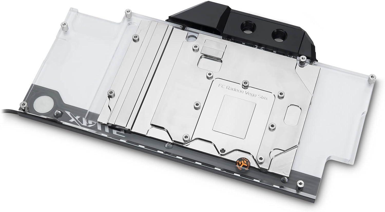 Nickel EKWB EK-FC Radeon Vega Strix RGB GPU Waterblock