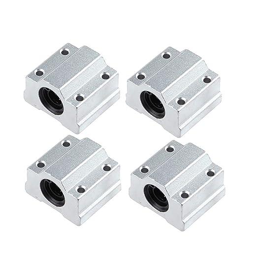2PCS SC12UU SCS12UU Linear Ball Bearing Motion Bearing CNC