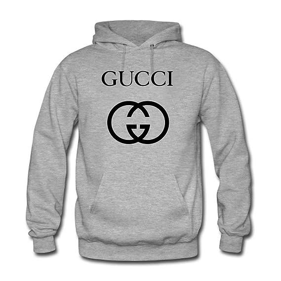 Gucci - Sudadera con capucha - para hombre gris XXL: Amazon.es: Ropa y accesorios
