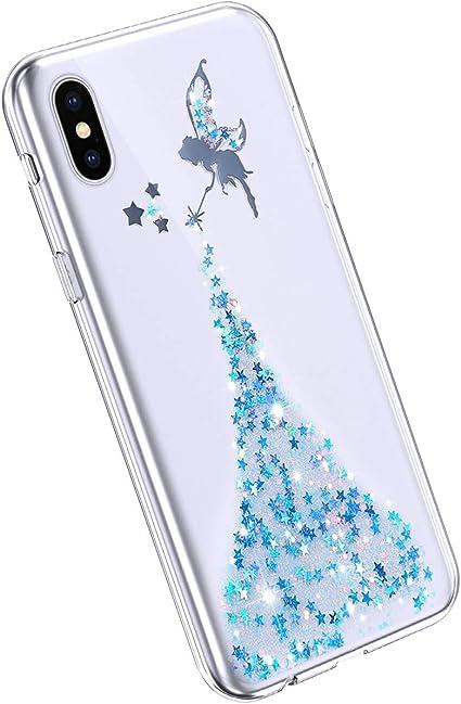 YSIMEE Compatibile con Cover iPhone XS Max Custodie Specchio Ultra
