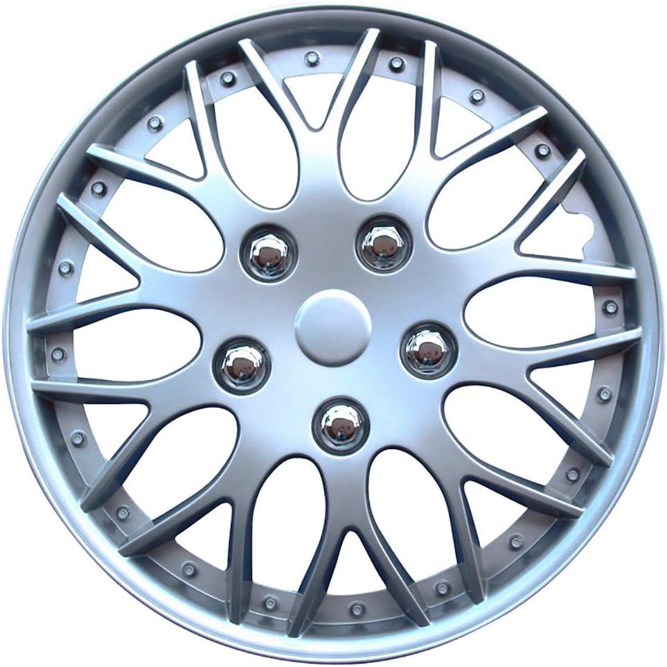 Satz Radzierblenden Missouri 14 Zoll Silber Auto