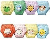 Potty Training Pants - TOOGOO(R)4 X Baby Toddler Girls Boys Cute 4 Layers Waterproof Potty Training Pants reusable 2-3 Years