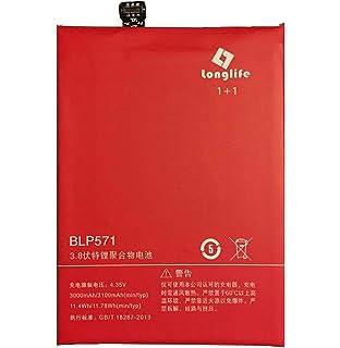 Amazon.com: Oneplus One Battery, YISHDA 3200mAh BLP571 ...
