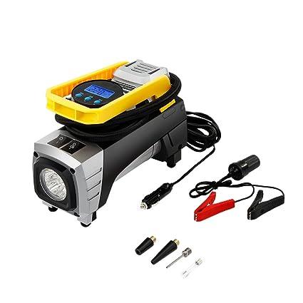 Bomba de aire portátil Tsumbay 12 V 150 PSI Inflador de neumáticos digital automático con presión