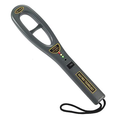 LayOPO - Detector de Metales de Mano con Varita y Detector de sensibilidad Ajustable para inspección