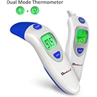 Baby Thermometer, Medical Ear Thermometer with Forehead Function Instant Read FDA Approved Baby Thermometer Fit for Baby Kids Infant and Old People