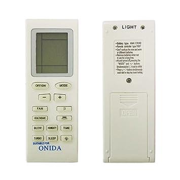 Buy lohaya remote compatible for onida split/window ac remote.