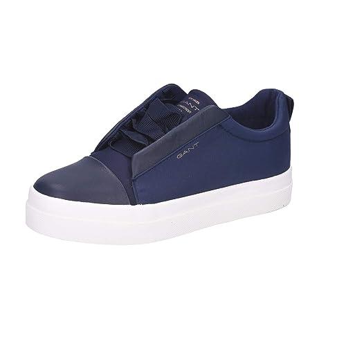 GANT Amanda, Zapatillas para Mujer, Azul Marino, 41 EU: Amazon.es: Zapatos y complementos