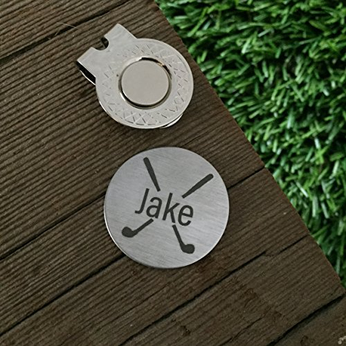 Personalized Name Golf Ball Marker For Him Golf Gift For Husband For Boyfriend Gift Wedding Golf Gift Idea Personalized Birthday Gift