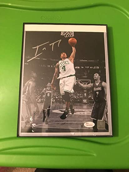 3a81a05f0c9 Isaiah Thomas Boston Celtics Autographed Signed 8x10 Picture With Coa JSA