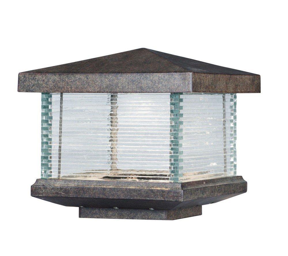 Maxim Lighting 55736CLET Triumph LED Outdoor Deck Lantern, Earth Tone