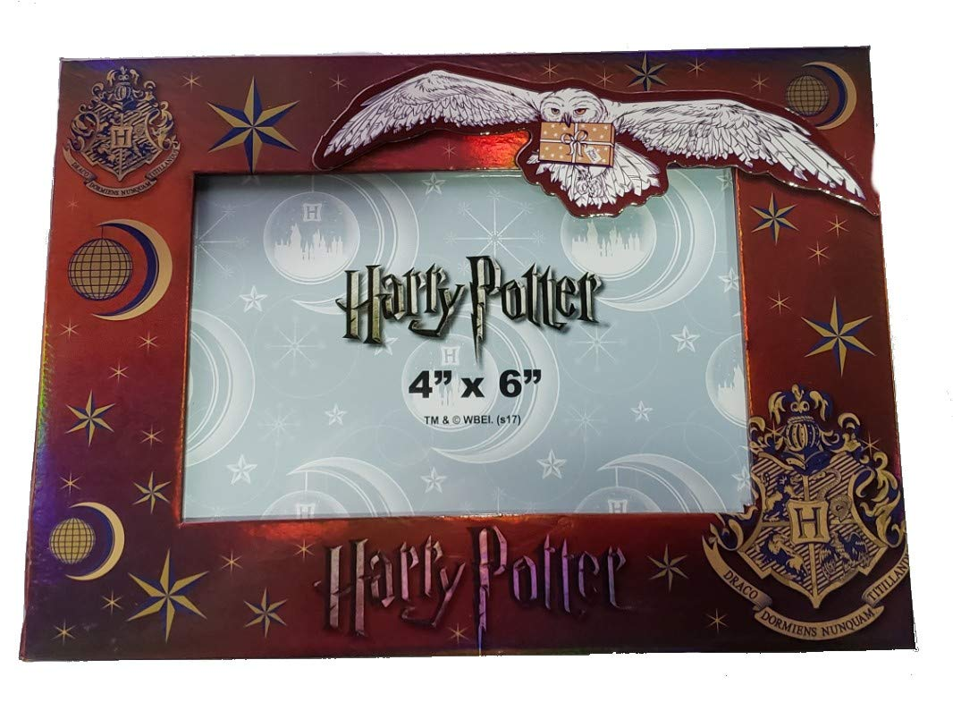 Harry Potter Magnet Cardboard Photo Frame 4''X 6'' (Brown) by Monogram