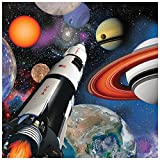 Space Blast Birthday Party Supplies 48 Pack Lunch Napkins
