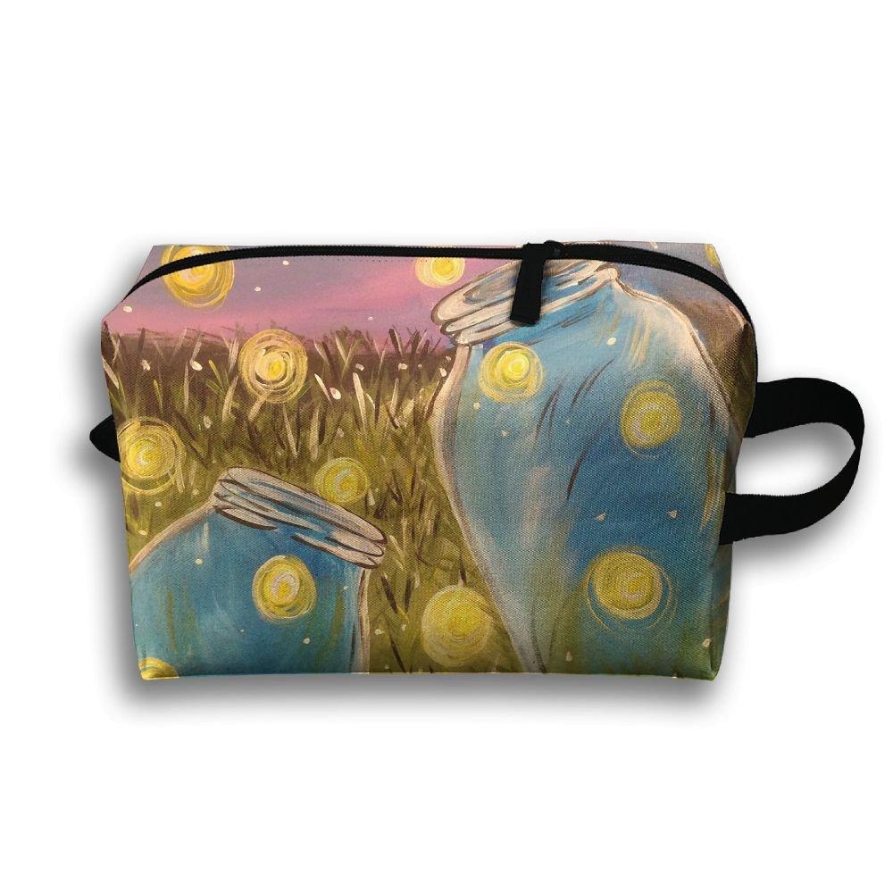 Love Heart Drawing Cosmetic Bags Makeup Organizer Bag Pouch Zipper Purse Handbag Clutch Bag