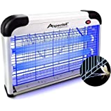 ASPECTEK Upgraded 20W Electronic Bug Zapper , Insect Killer - Mosquito , Fly , Moth , Wasp , Beetle & Other Pests Killer…