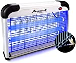 ASPECTEK Upgraded 20W Electronic Bug Zapper , Insect Killer - Mosquito