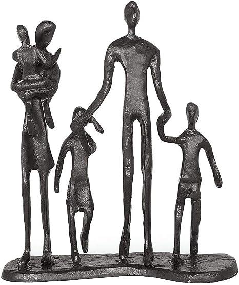Cast Iron Family Figures