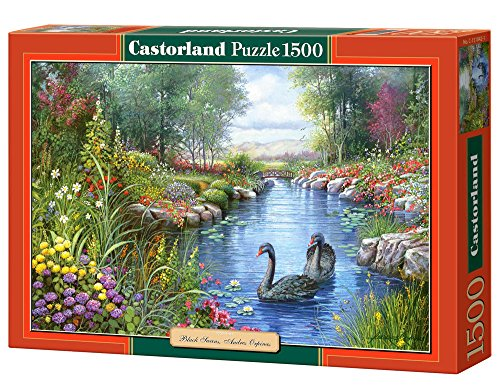 Castorland Black Swans Andres Orpinas Jigsaw - Pictures Black Swans