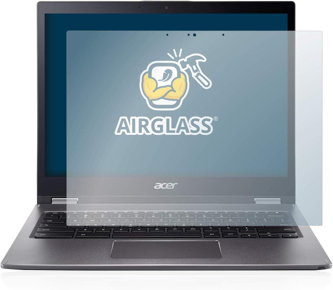 BROTECT Panzerglas Schutzfolie kompatibel mit Acer Chromebook Spin 13 CP713 Anti-Fingerprint AirGlass Ultra-transparent extrem Kratzfest