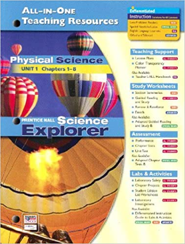 All In One Teaching Resources Physical Science Unit 1