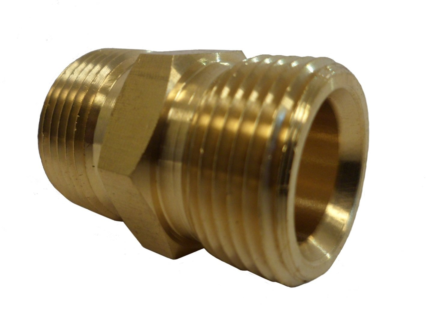 Amazon.com: M22 Male to M22 Male 15mm Adapter, Hose to Hose Coupler ...