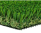 MTBRO Artificial Grass Rug, Realistic Artificial Turf, Indoor/Outdoor Grass Rug, Dog Grass Mat, Blade Height 1.5