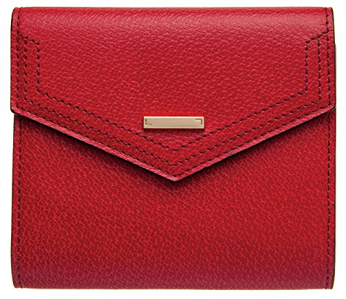 5 French Purse Wallet (Lodis Stephanie Rfid Under Lock and Key Lana French Purse Wallet, Red, One Size)