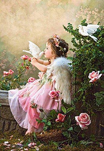 Hot 5D DIY Diamond Mosaic Embroidery Fairy Angel Diamond Painting Full Rhinestone cross stitch Home Decor