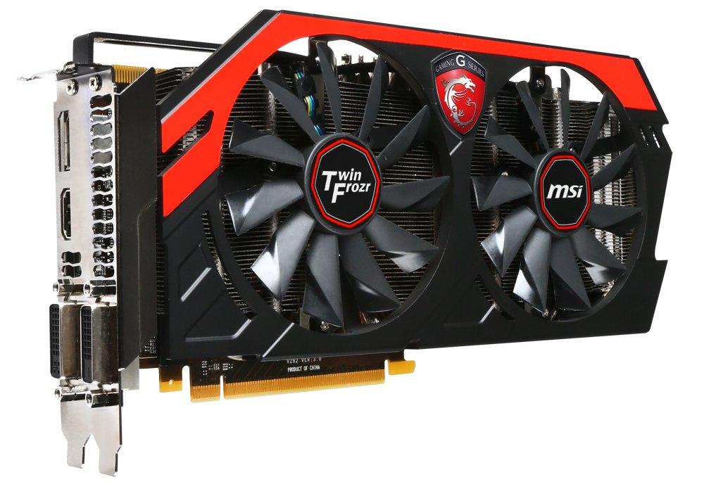 MSI GTX 770 2GB - Tarjeta gráfica (GeForce, 2560 x 1600 Pixeles, NVIDIA, 2048 MB, GDDR5-SDRAM, 256 bit)