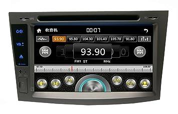 Generic reproductor de CD DVD GPS Navegador para coche Mini Vehículo Plata